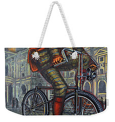 Bob On His Bantam St Pauls London Weekender Tote Bag