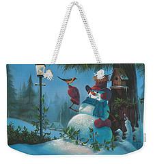 Tweet Dreams Weekender Tote Bag by Michael Humphries