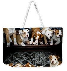 Twice The Love Weekender Tote Bag