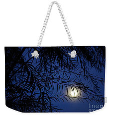 Twilight Moon Weekender Tote Bag by Kerri Mortenson
