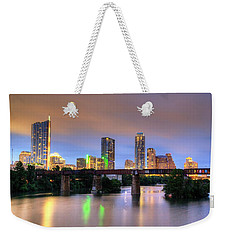 Twilight On The Lake Weekender Tote Bag