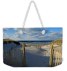 Weekender Tote Bag featuring the photograph Golden Hour Beach by Dianne Cowen