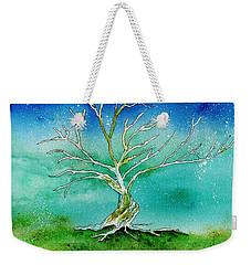 Twilight Tree Weekender Tote Bag