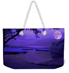 Twilight Zone Weekender Tote Bag by Robert McCubbin