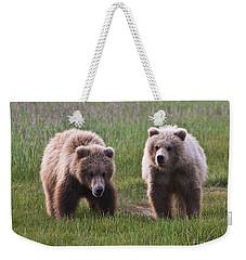 Twin Bear Cubs Weekender Tote Bag