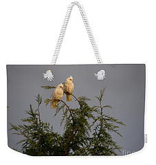 Twin Cockatoos Weekender Tote Bag