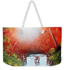 Twin Falls  Weekender Tote Bag