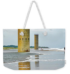 Twin Towers At Whiskey Beach Weekender Tote Bag