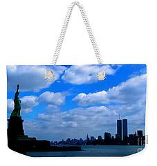 Twin Towers In Heaven's Sky - Remembering 9/11 Weekender Tote Bag
