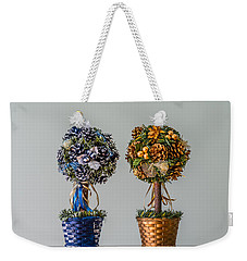 Twin Trees Weekender Tote Bag