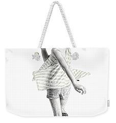 Twirl Weekender Tote Bag