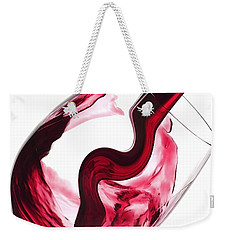 Twisted Flavour Red Wine Weekender Tote Bag