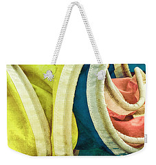 Twisted Weekender Tote Bag by Gary Slawsky