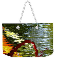 Twisted Ripples Weekender Tote Bag