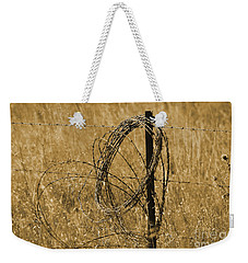 Twisted - Sepia Weekender Tote Bag