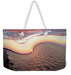 Twisted Sunset Weekender Tote Bag by Aimee L Maher Photography and Art Visit ALMGallerydotcom