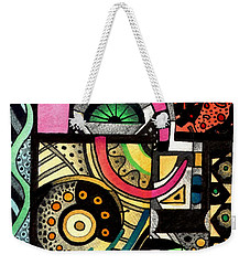 Twisting And Turning Weekender Tote Bag by Helena Tiainen