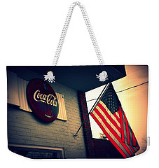 Weekender Tote Bag featuring the photograph Two American Favorites by Lisa Wooten
