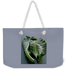 Two Collard Leaves Weekender Tote Bag