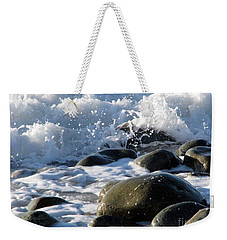 Two Elements Weekender Tote Bag by Jola Martysz