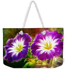Two Eyes Of Heaven Weekender Tote Bag by Lilia D