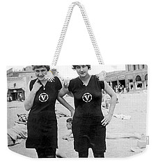 Two Girls At Venice Beach Weekender Tote Bag