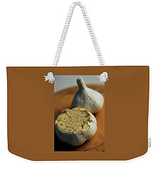Two Heads Of Garlic Weekender Tote Bag