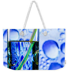 Two In Bubbles Weekender Tote Bag by Edgar Laureano