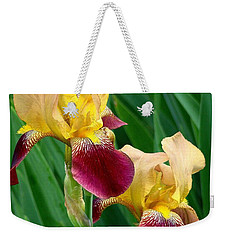 Two Iris Weekender Tote Bag