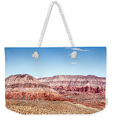 Two Layered Mountains Weekender Tote Bag
