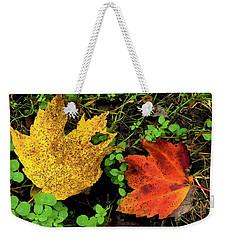 Two Leaves Weekender Tote Bag