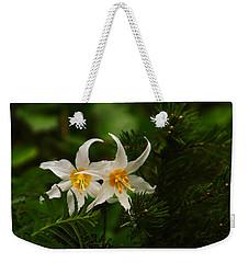 Two Lilies Weekender Tote Bag