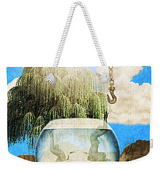 Two Lost Souls Weekender Tote Bag