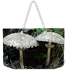 Two Magnificent Toadstools Weekender Tote Bag