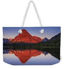 Two Medicine Sunrise Weekender Tote Bag