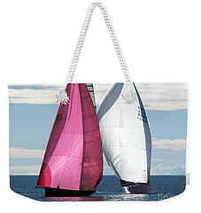 Two Of Us Weekender Tote Bag by Jola Martysz