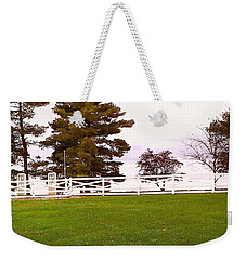 Two Old Gas Pumps Weekender Tote Bag