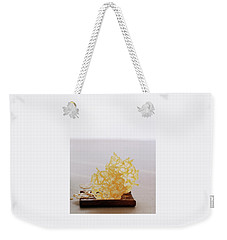Two Parmesan Onion Puffs Weekender Tote Bag