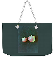 Two Red Apples Weekender Tote Bag