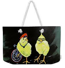 Two Smokin Hot Chicks Weekender Tote Bag