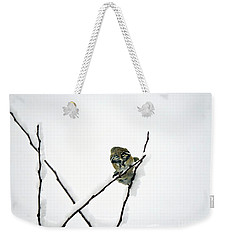 Two Sparrows Weekender Tote Bag