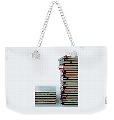 Two Stacks Of Books Weekender Tote Bag