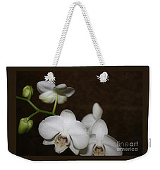 Two To Bloom Weekender Tote Bag by Cathy Dee Janes