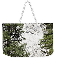 Two Trees And The Peak Weekender Tote Bag