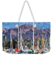 Two Trees Ventura  Weekender Tote Bag by Andrea Auletta