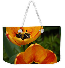 Two Tulips Weekender Tote Bag