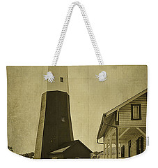 Tybee Island Light Station Weekender Tote Bag by Priscilla Burgers