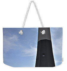 Weekender Tote Bag featuring the photograph Tybee Island Lighthouse by Deborah Klubertanz