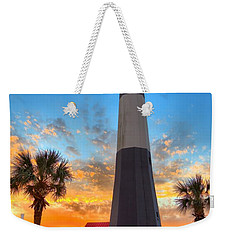 Tybee Island Sunrise Weekender Tote Bag by Gordon Elwell