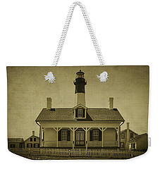 Tybee Lighthouse Weekender Tote Bag by Priscilla Burgers